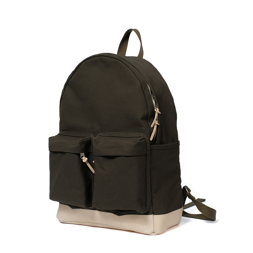 MAZI UNTITLEDAll-Day Back Canvas(Khaki)10% OFF