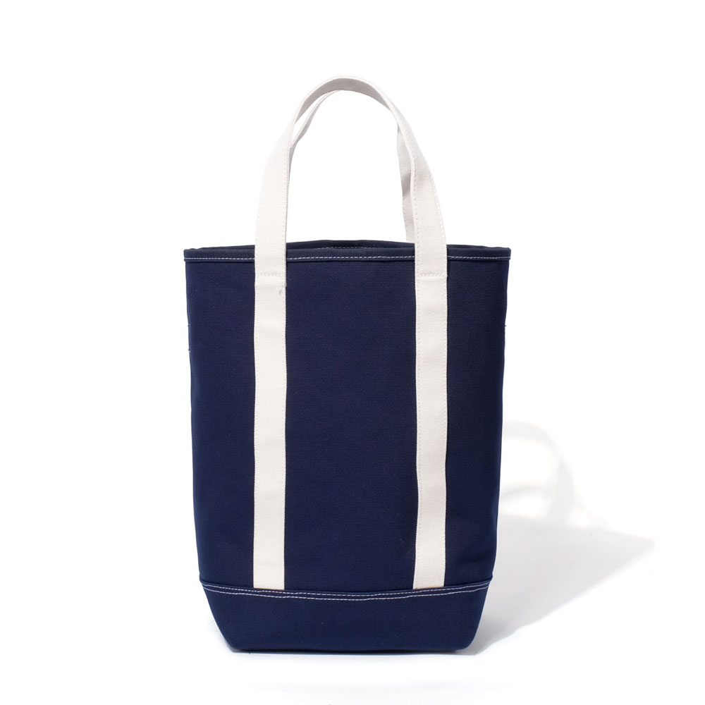 MAZI UNTITLEDGrocery Tote Bag(Navy)10% OFF