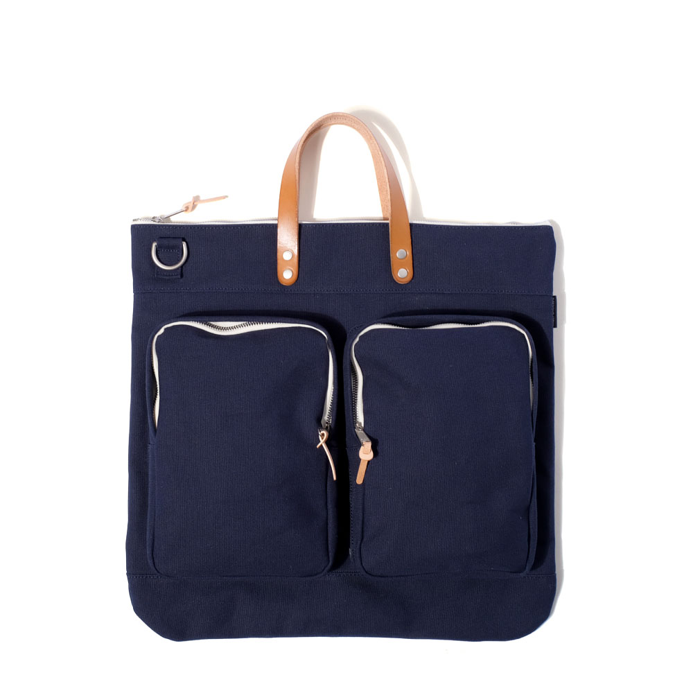 MAZI UNTITLEDHelmet Bag(Navy)10% OFF