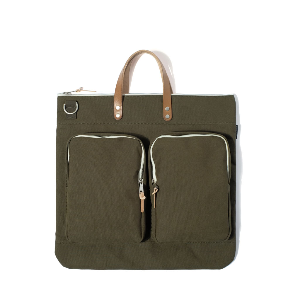 MAZI UNTITLEDHelmet Bag(Khaki)10% OFF