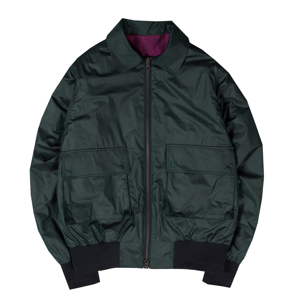Taste of EssenceUnisex 2Way Reversible Jacket(Green)