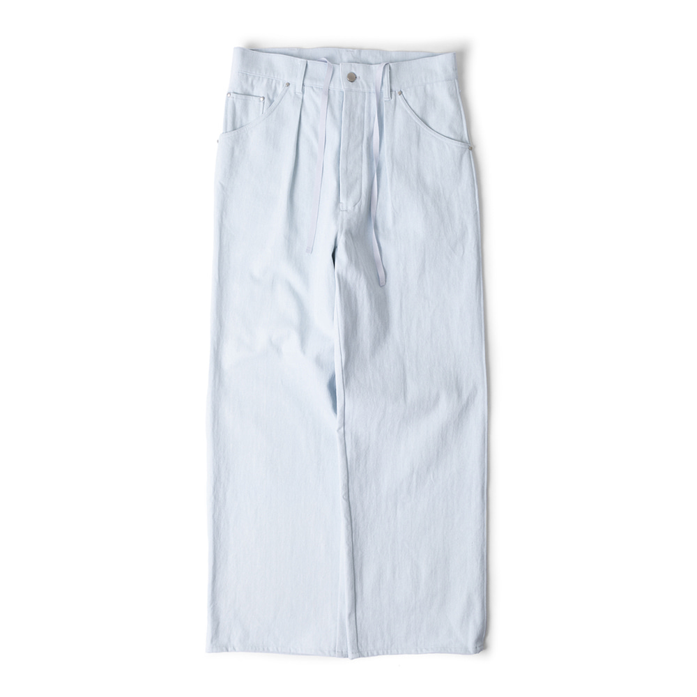 POLYTERUGosima Pants(Ice Denim)