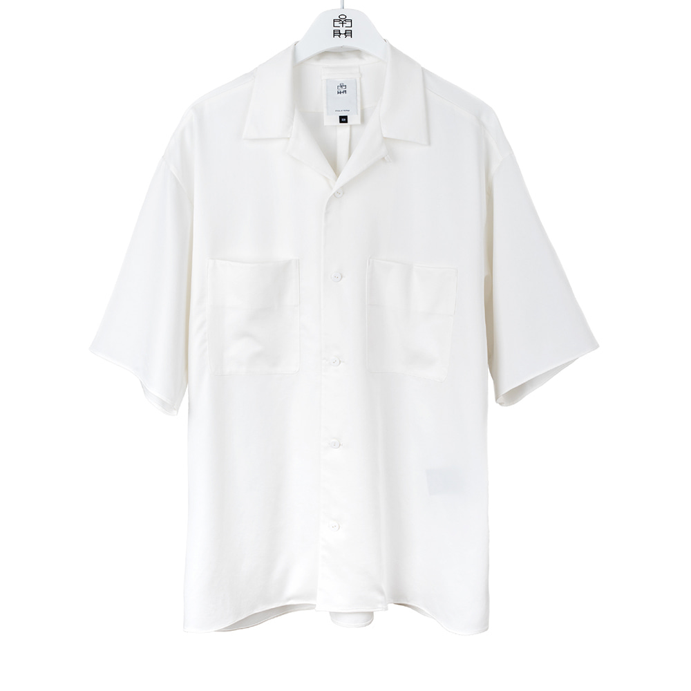 POLYTERU2020 Relaxed 2PK Shirts(White)