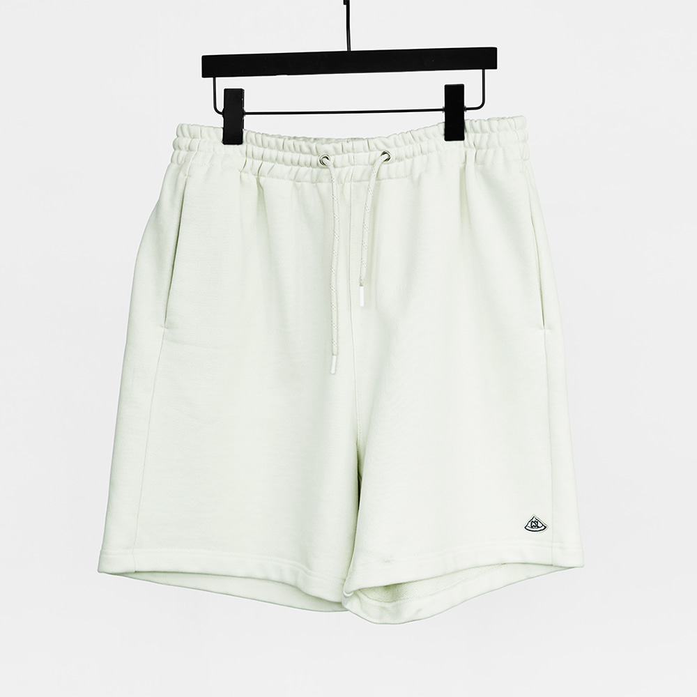 CHAMA SPORTS LAB.CSL Heavy Weight Sweat Short(Ice White)