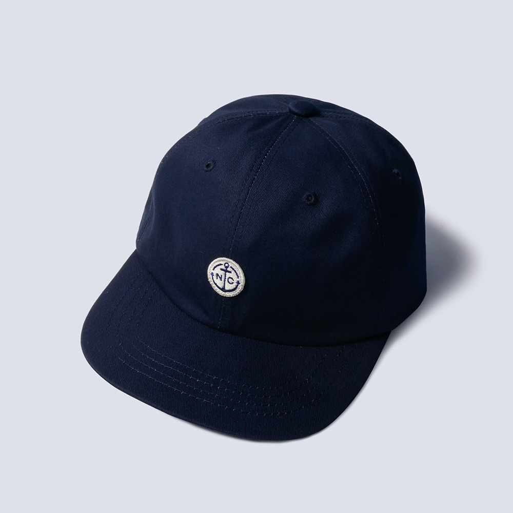 NAMER CLOTHINGAnchor Ball Cap(Navy)