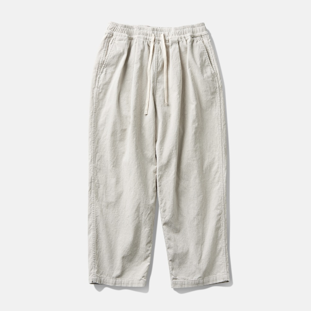 DEUTERODTR1955 Corduroy Wide Pants(Stone White)