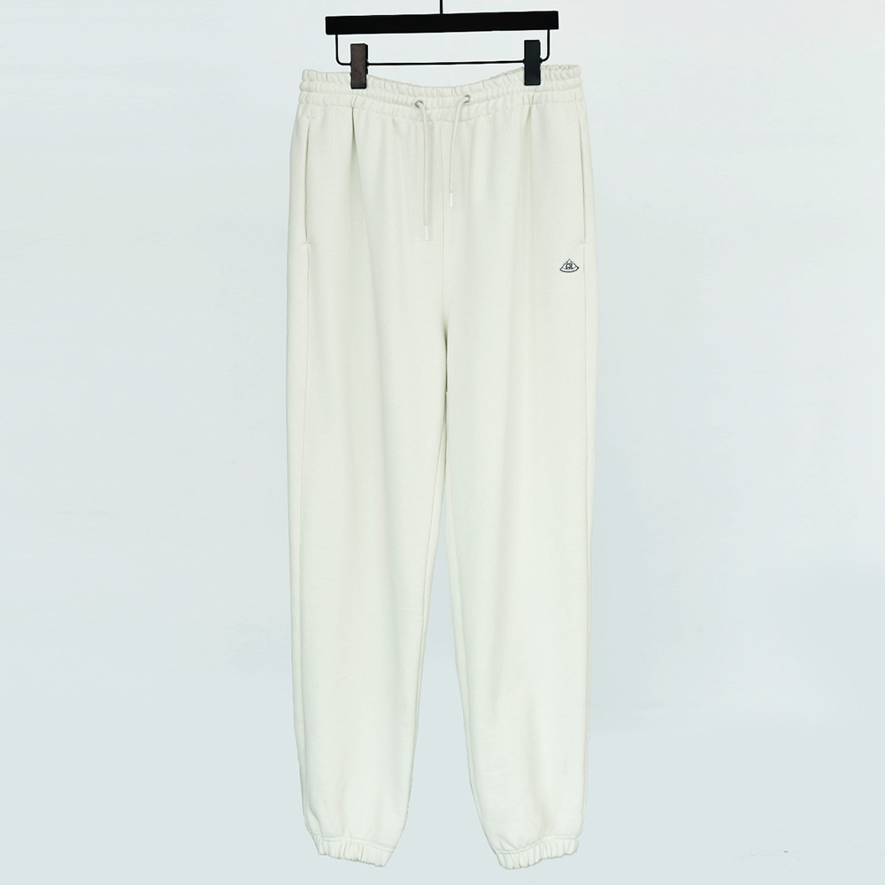 CHAMA SPORTS LAB.CSL Unisex Heavy Weight Sweat Pants(Ice White)