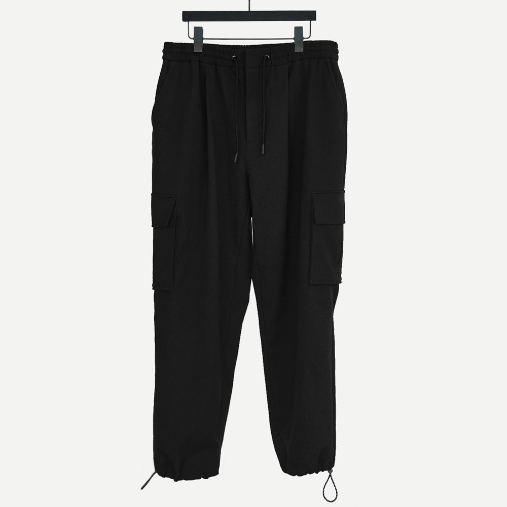 CHAMA SPORTS LAB.CSL Unisex Cargo Pants(Black)